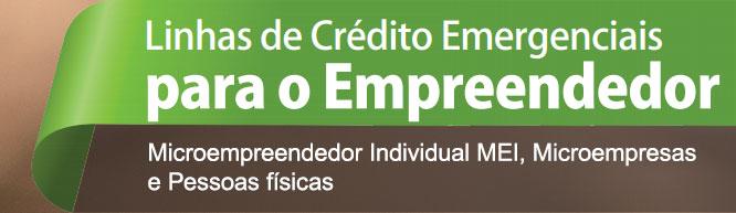 Linhas de crédito para empreendedores